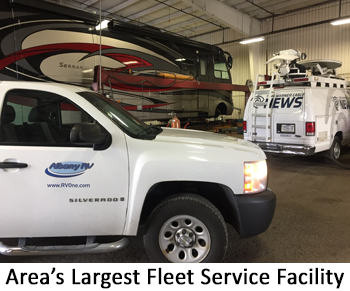 Area's Largest Fleet Service facility